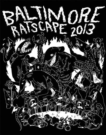 Baltimore Ratscape T-Shirt